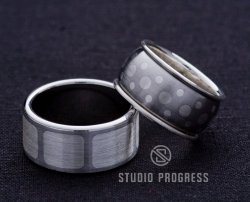Fémberakásos - acél gyűrű - studioprogress.hu