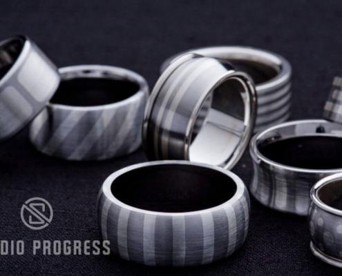 Fémberakásos - nemesacél gyűrűk - studioprogress.hu
