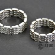 hogyan készült szelvényes nemesacél karikagyűrű - studioprogress.hu